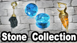 Stone collection.