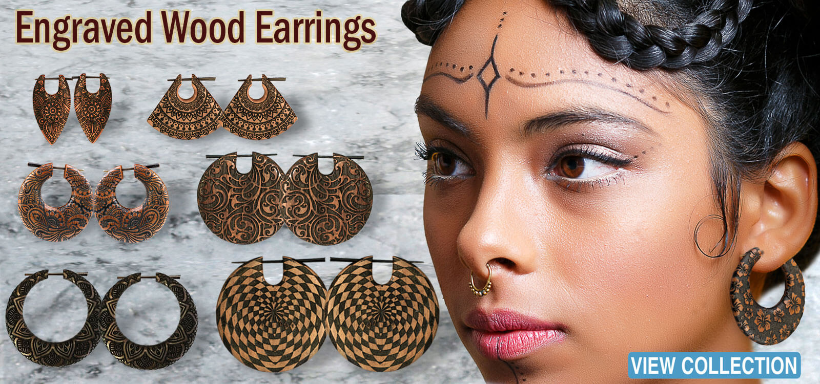 wooden piercing,organic piercing, body jewelry