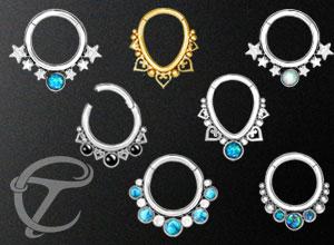fake plugs,fake gauged earrings,fake piercing