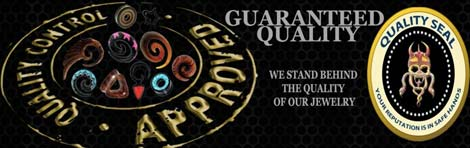 quality guaranty for organic jewelry