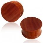 Concave Sawo wood plug