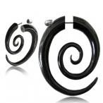 Fake piercing, Oval spiral
