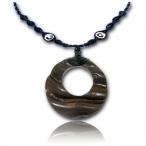 medium plain wood ring