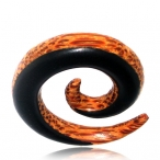 Arang/coco wood spiral