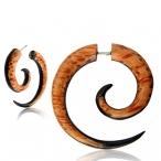 Coco/arang wood fake spiral