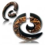 arang/palm wood spiral