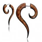 Coco/arang wood fake thai spiral