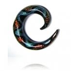 red/aqua dichro spiral