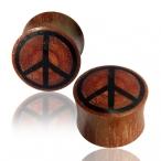 Sawo wood peace plug