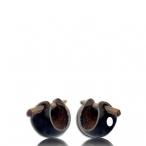 baby coco earring with shell inlay