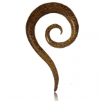 Siamea wood thai spiral
