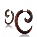 rounded oval spiral