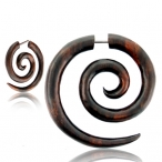 rounded supper spiral