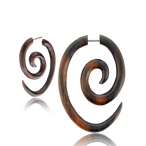 big oval spiral
