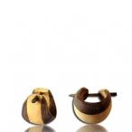 two tune wood earring