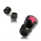 Horn plug / star inlay