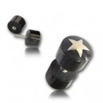 Horn plug / Silver inlay