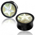 mother of pearl star plug