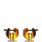 batik wood earring