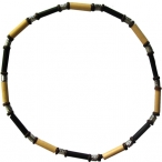 Beaded necklaces , elastic string