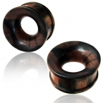 concave two tone Arang wood tunnel