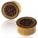 bamboo/coco-wood plug