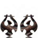 raw hide earring