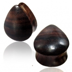 Narra wood , Tear drop plug