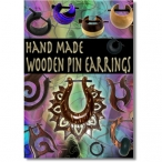 Pin earring poster ( organic jewelry poster )