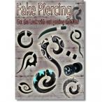 Organic fake piercing Poster