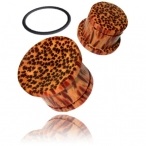 singel flair coco wood plug