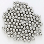 Spare balls for fake piercing 316L steel.