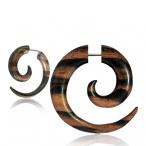 Two tone arang wood, cheaters spiral