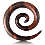 Narra wood, supper spiral
