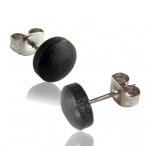 Arang wood stud earring with 316L steel