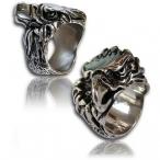 Stainless steel ring , eagle finger ring