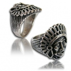 Stainless steel ring , indian finger ring