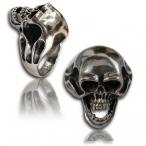 Stainless steel ring , skull ring