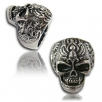 Stainless steel ring , dead wampire ring