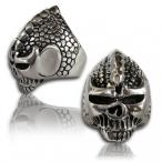 Stainless steel ring, alien ring