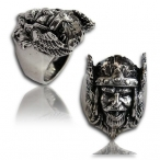 Stainless steel ring , odin ring