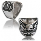 Stainless steel ring pirate finger ring