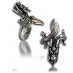 Stainless steel ring, dragon ring