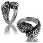 Stainless steel ring , snake ring