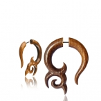 Siamea wood with surgical steel pin