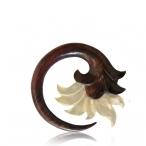 Shell and narra wood