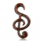 Narra wood music note expander