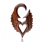 Narra wood angel heart expander