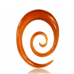 red horn oval spiral