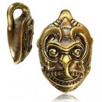 Brass bali monkey god ear weight.